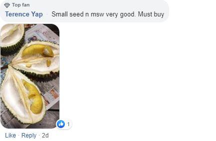 Good deals must share May 27-June 2: $38 Mao Shan Wang durian buffet