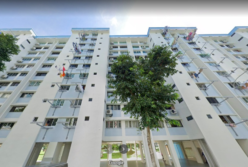 Man Nearly Hit By Concrete Slab Falling From Tampines HDB Block
