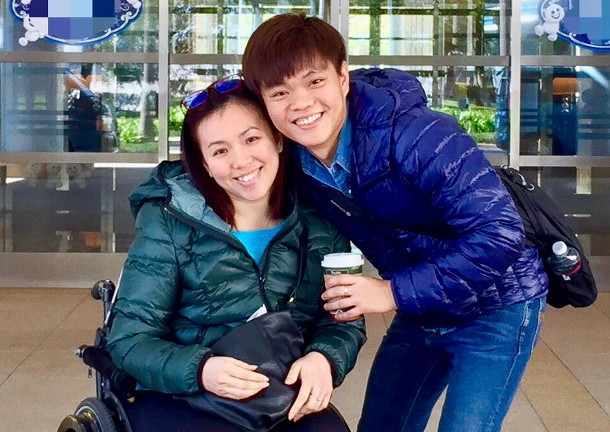Dating a disabled woman