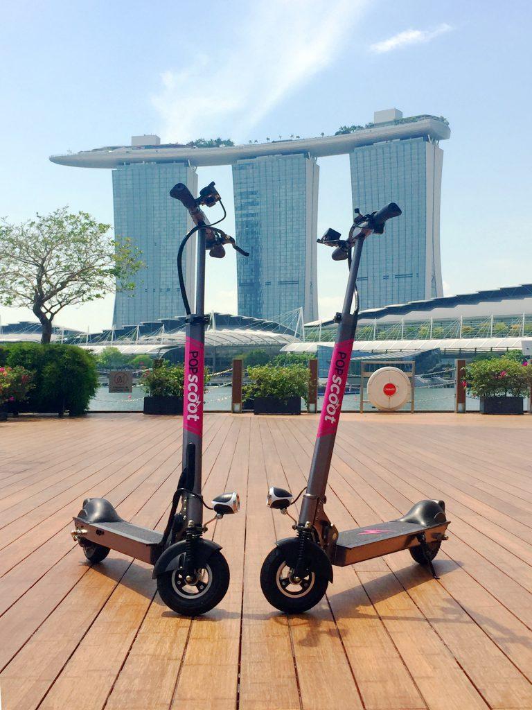 Scoot Over  Bike-sharing