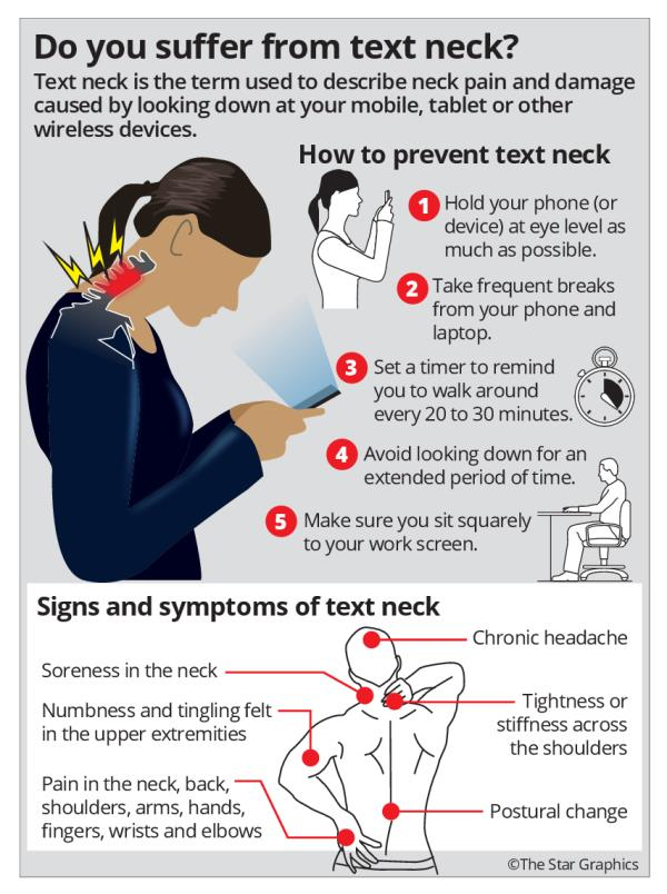 'Text neck' is becoming an 'epidemic' and could wreck your ...