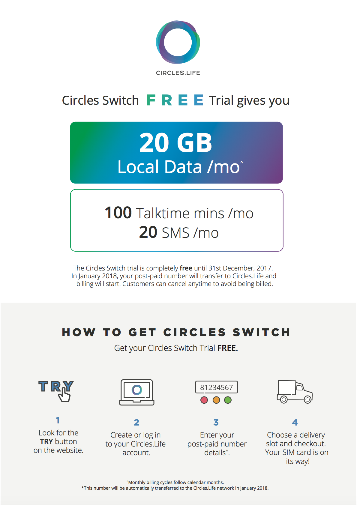 circles life introduces free trial for customers in singapore
