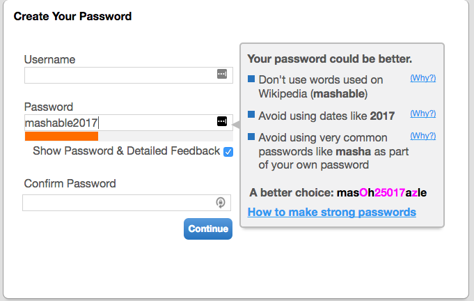 Learn how to set stronger passwords with this new tool
