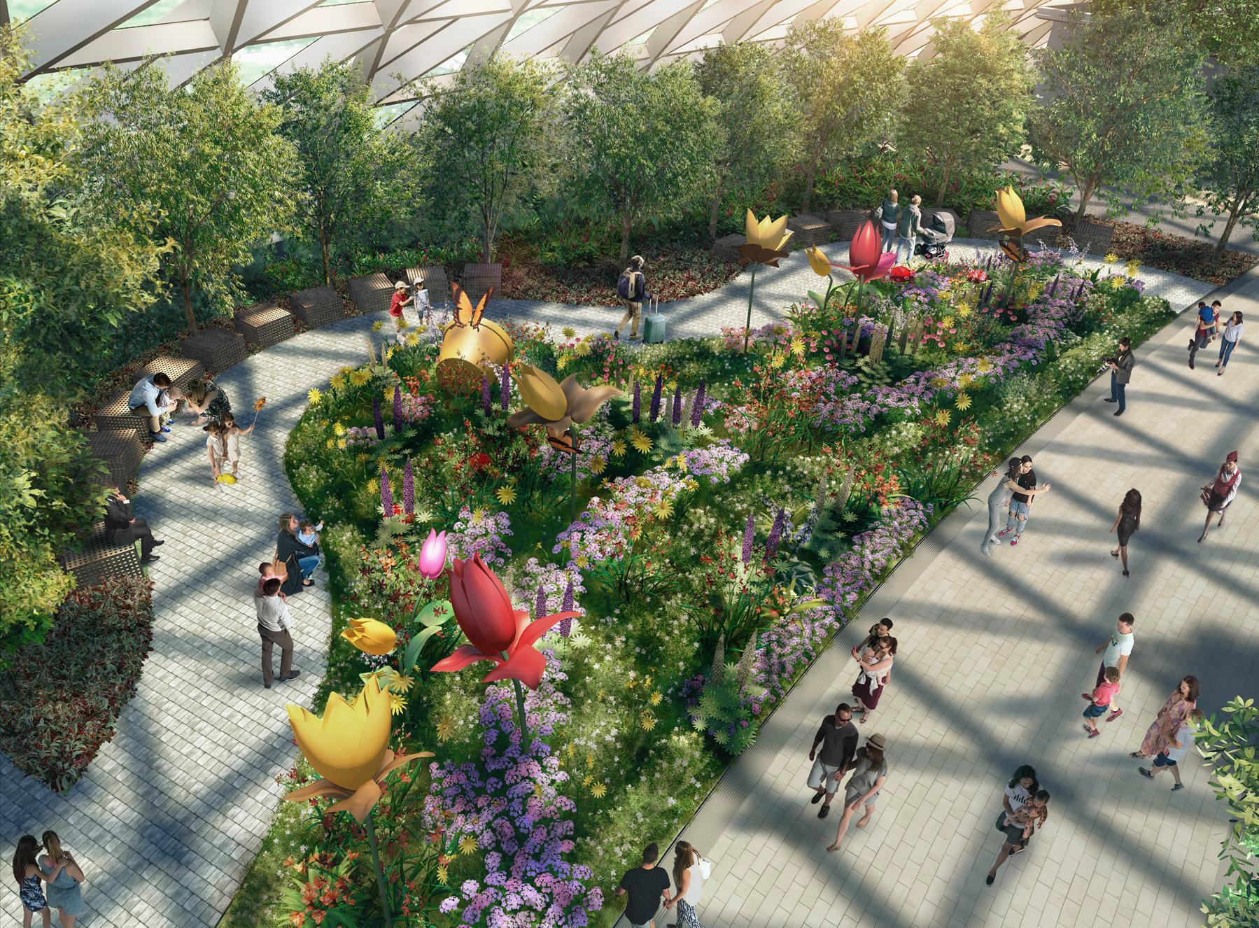 Sky Garden Walk: 5 Attractions To Explore At Jewel Changi Airport