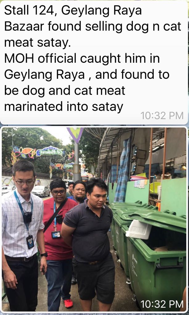 NEA investigates rumours of cat and dog satay sold at