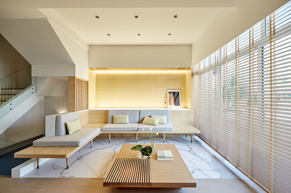 A Sensible Japanese Style Home In Yishun Featuring Brass