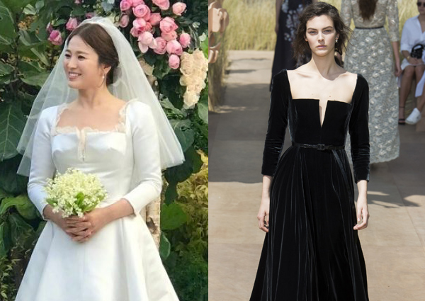 song hye kyo s wedding bouquet said to cost more