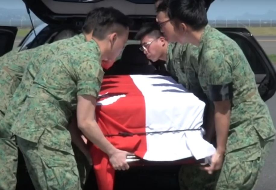 Aloysius Pang To Be Accorded Military Funeral Honours On