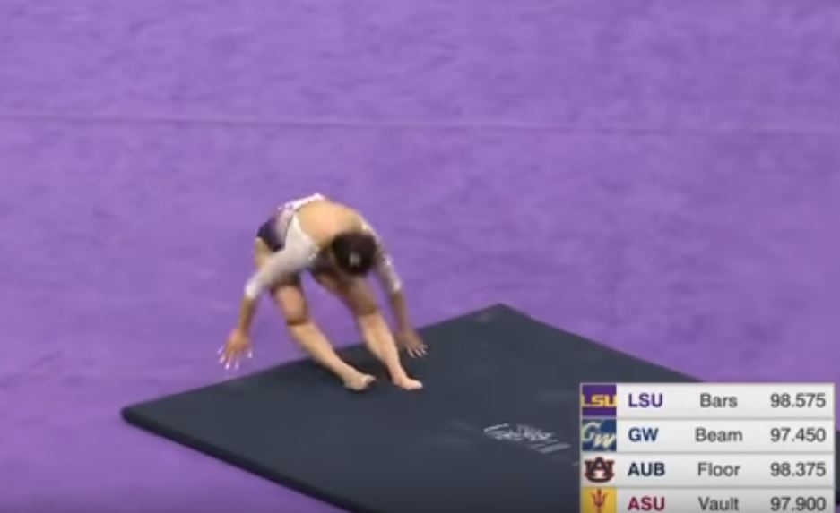 Auburn gymnast suffers gruesome injuries at regionals