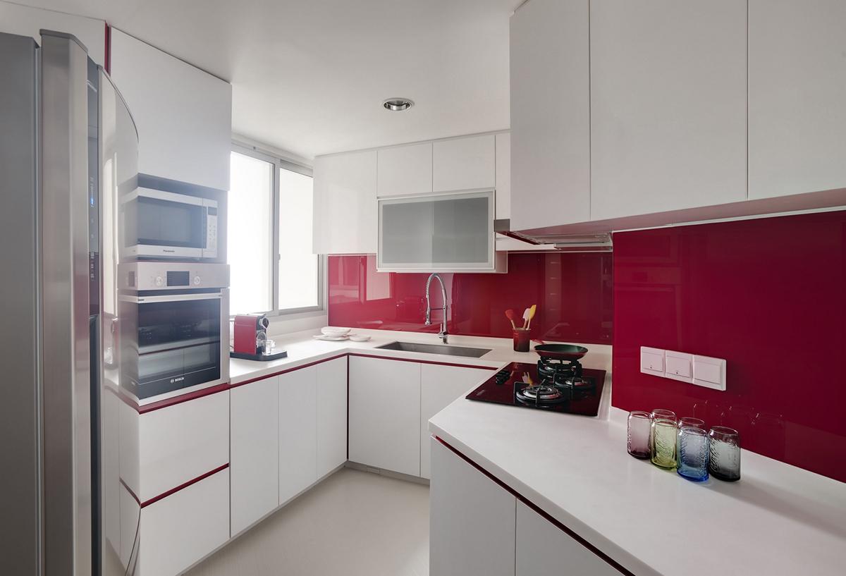 backsplash ideas for an easy clean kitchen asiaone news