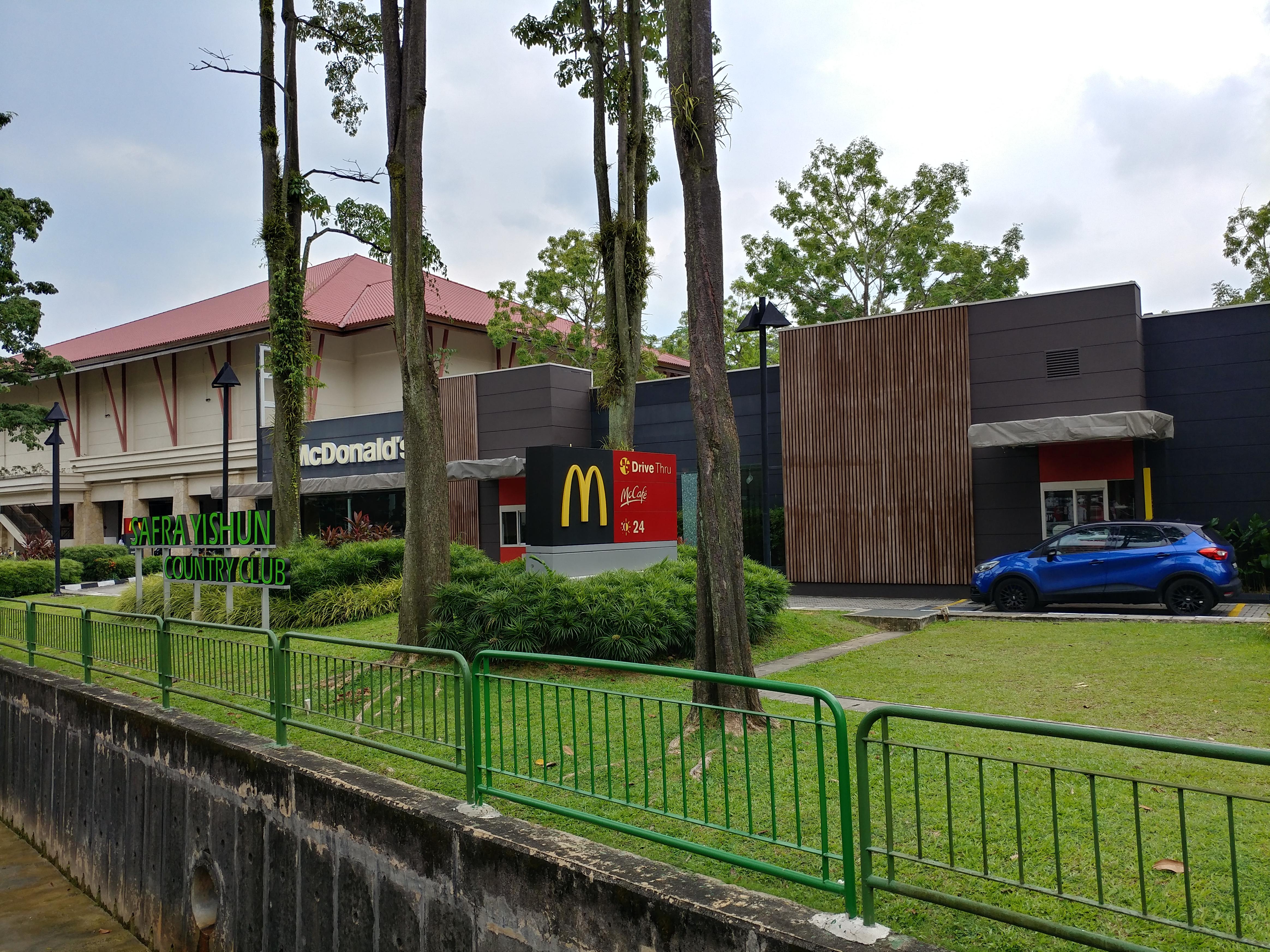 What s around the singapore president neighbourhood in