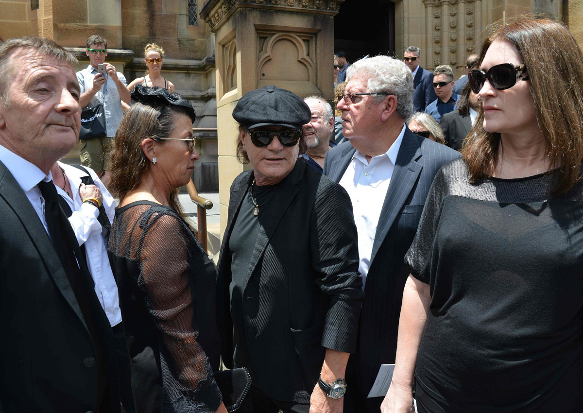 AC/DC founder Malcolm Young farewelled