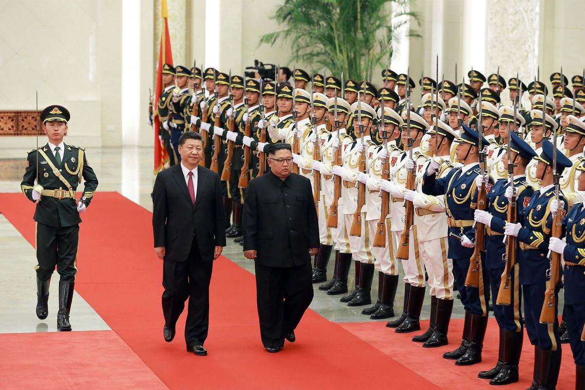 Kim, Xi agree on resolution of key issues