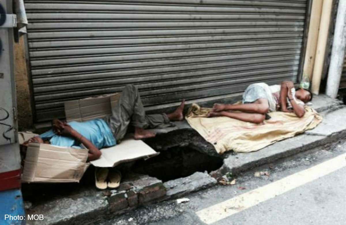 Image result for images of homeless in kuala lumpur