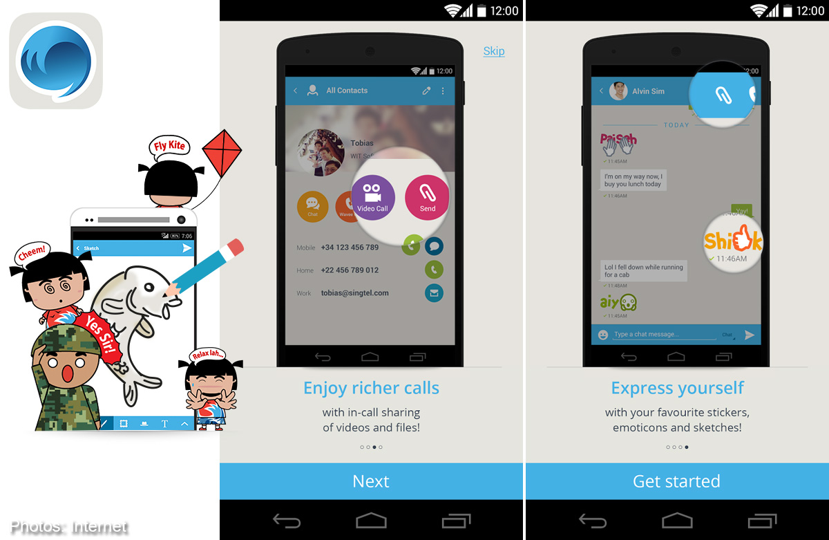 Singtel launches chat app that allows voice and video calls, Digital