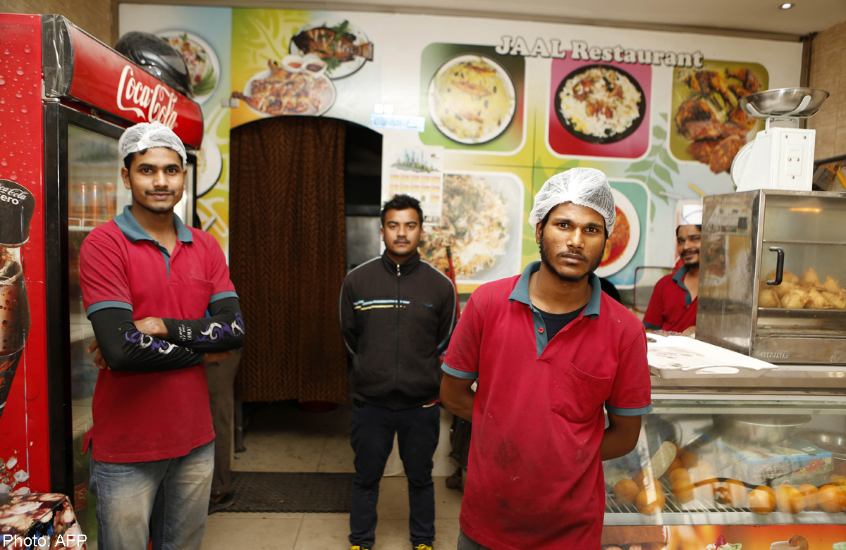 In rich Qatar, one restaurant lets poor eat for free, Food