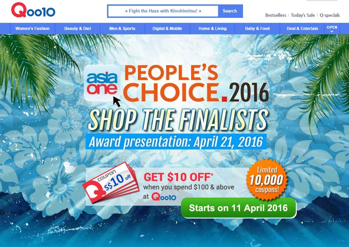 cadd6f8275f AsiaOne x Qoo10 pop-up store offers discounts on most popular tech  products, Singapore, Digital News - AsiaOne