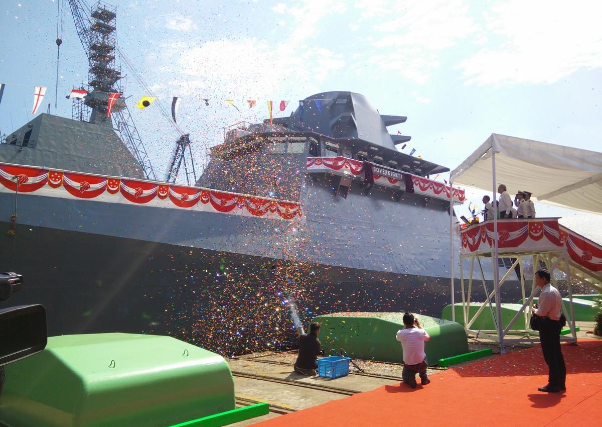 Singapore Navy starts building first of 8 coastal warships
