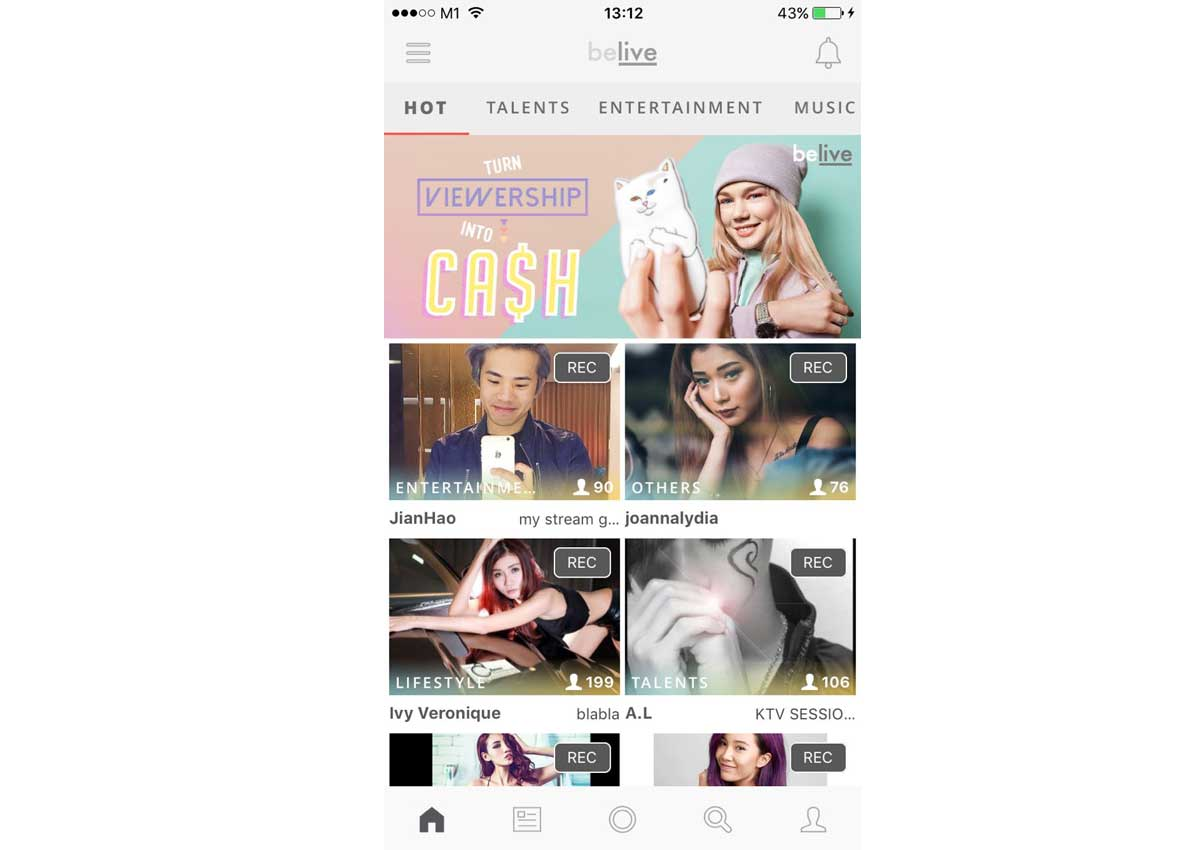 This New App Lets You Earn Money By Live Streaming Yourself And It S Not Bigo Digital News Asiaone