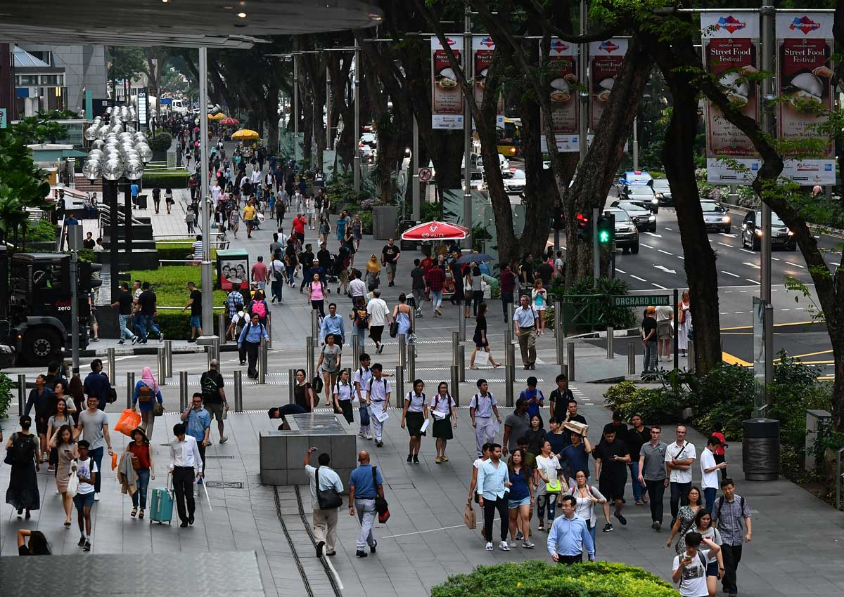 Smokers won't be able to light up freely at Orchard Road