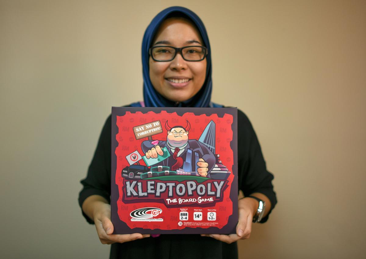 Malaysians poke fun at 1MDB scandal with 'Kleptopoly' board