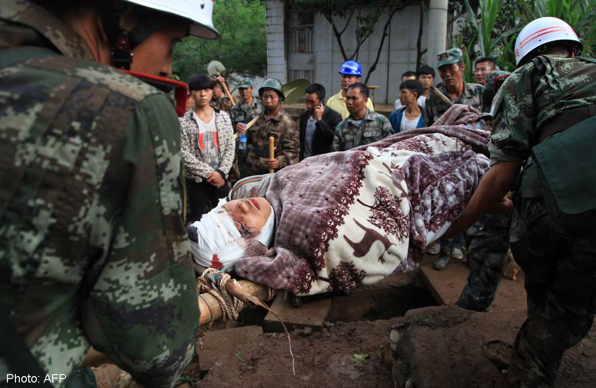 Swift action urged after Yunnan quake, Asia News - AsiaOne
