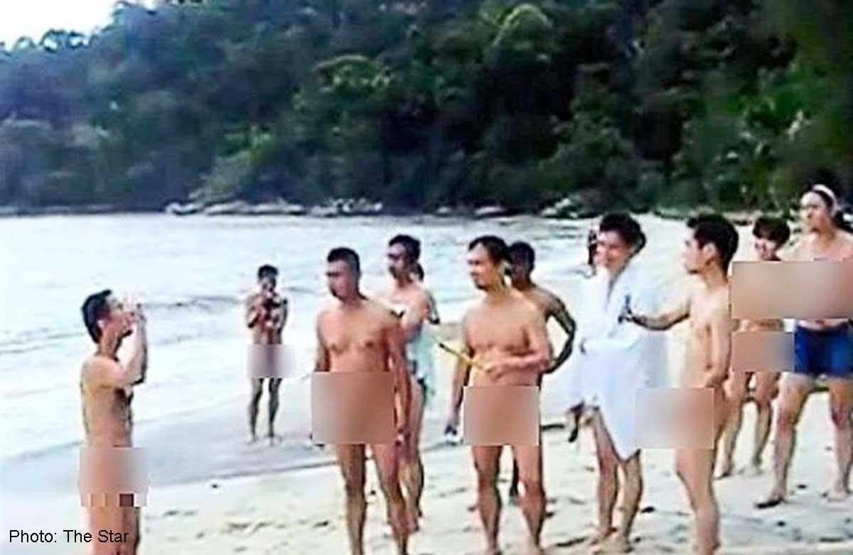 Nude girls ramp walk