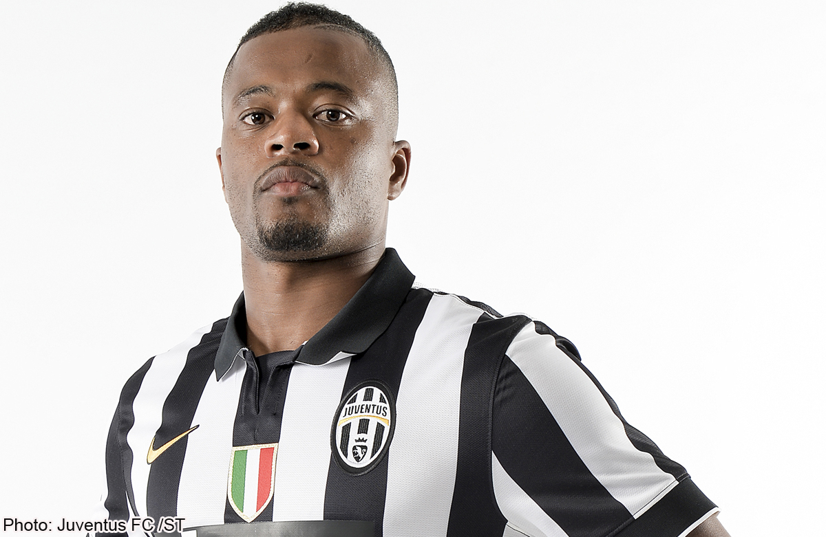Evra happy to tackle new challenges with Juventus News Asia e
