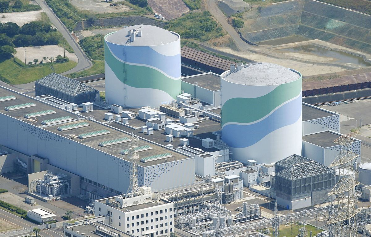 Active Fault Likely Under Japans Shika Nuclear Plant Asia News Power Layout Design Japan Ends Shutdown Four Years After Fukushima Disaster