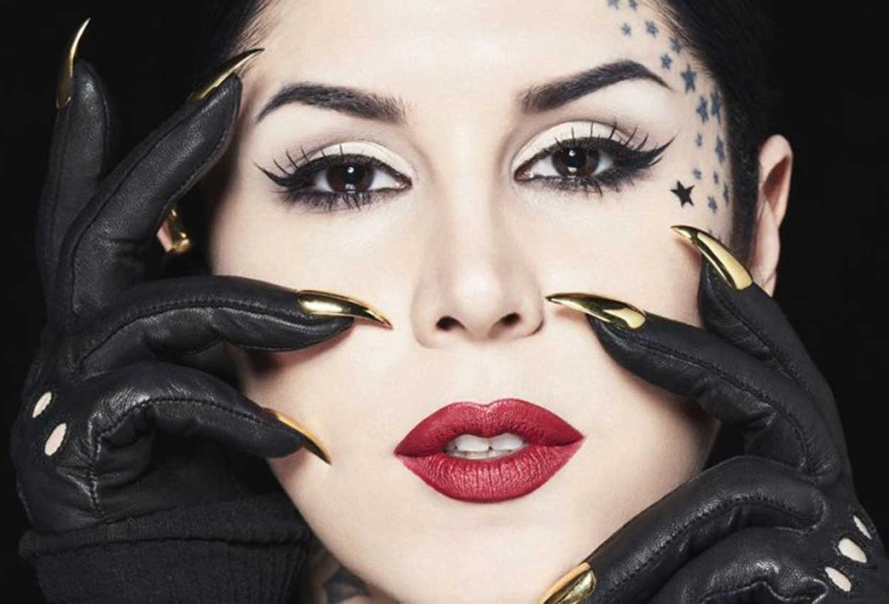 39a2945716e American tattoo artist Kat Von D taps into her vegan spirit and imagination  to create a cruelty-free make-up line.
