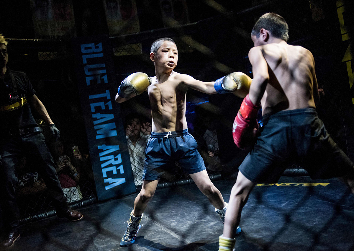 Fighting For Their Fate Chinese Kids Adopted By Mma Club