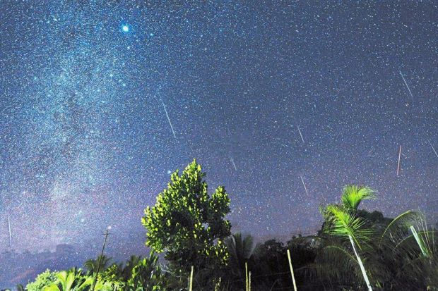 Only brightest bits of Perseid meteor shower visible to