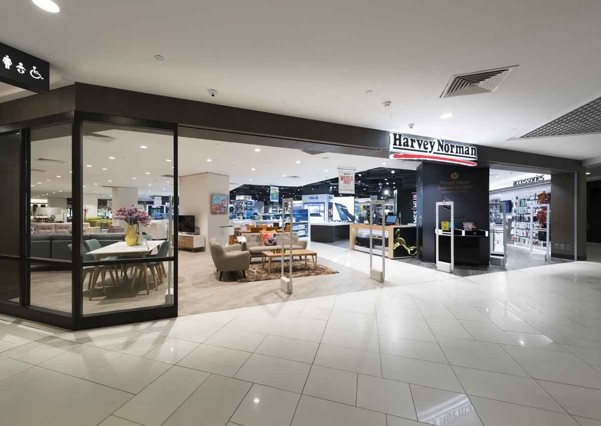 Harvey Norman Revamps Parkway Parade Outlet Into Full