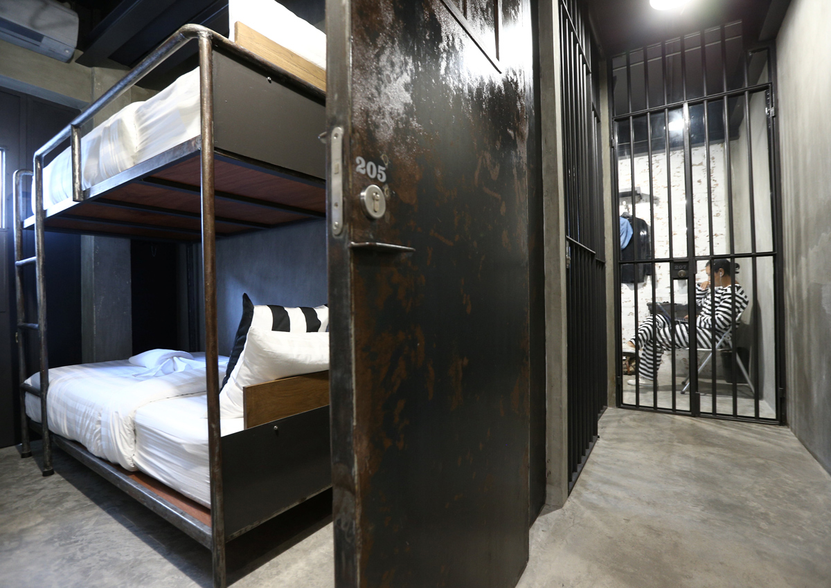 Curious about prison life? Bangkok jail-themed hostel offers