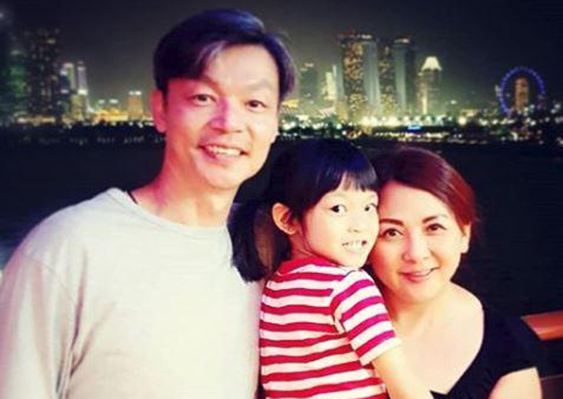 Actor Mark Lee 'disgusted' by scam exploiting sick daughter