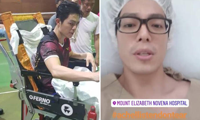 Local actor Zhang Yaodong undergoes surgery after tearing