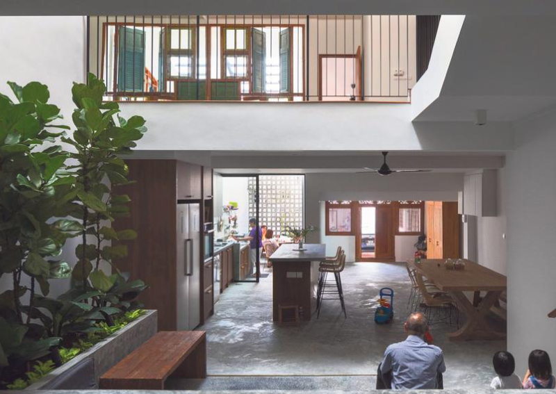 House Tour Communal Space And Recycled Materials Create