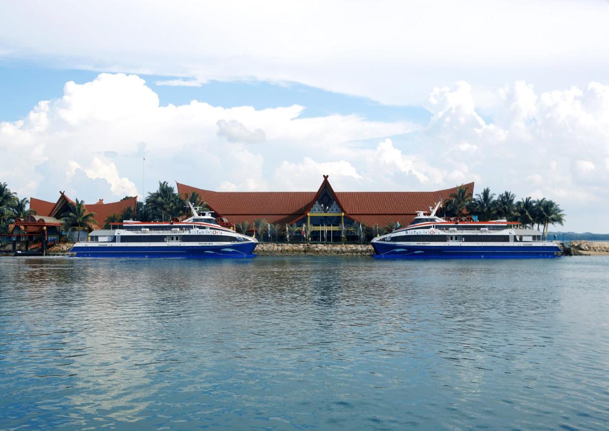 Price comparison of Singapore ferries to Bintan & Batam