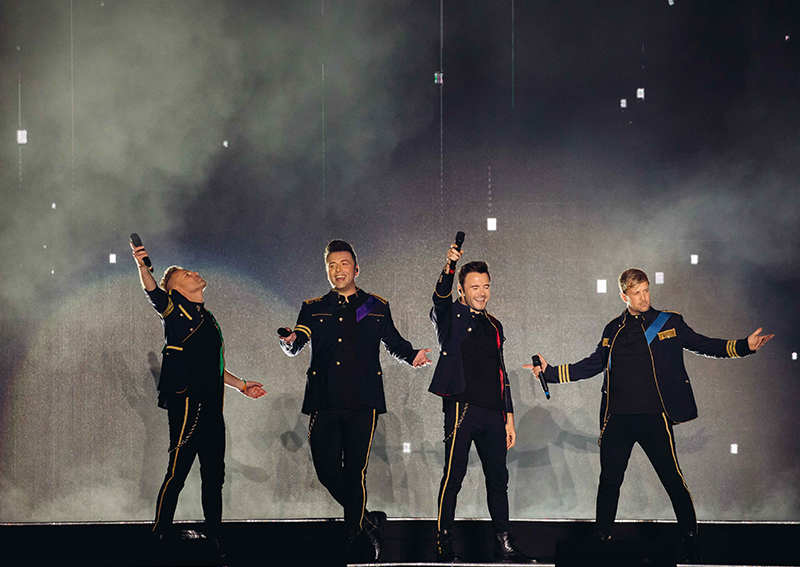 Westlife's The Twenty Tour made me feel old but proud to be a 90s