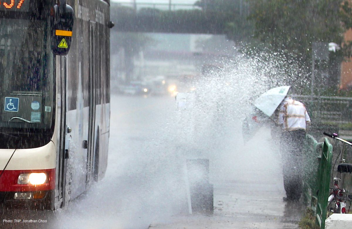 Singapore Likely To Have Wettest December In Recent Years