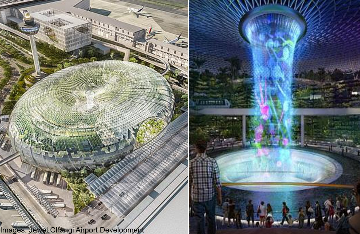 Changi S Jewel Not Just Another Mall Singapore News