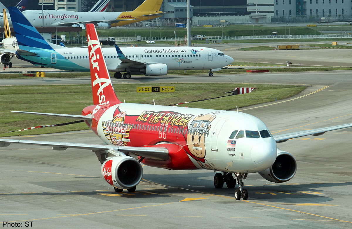 Airasia Flight From Indonesia To Singapore Loses Contact Jakarta Asia News Asiaone