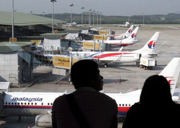 Malaysian airlines check in