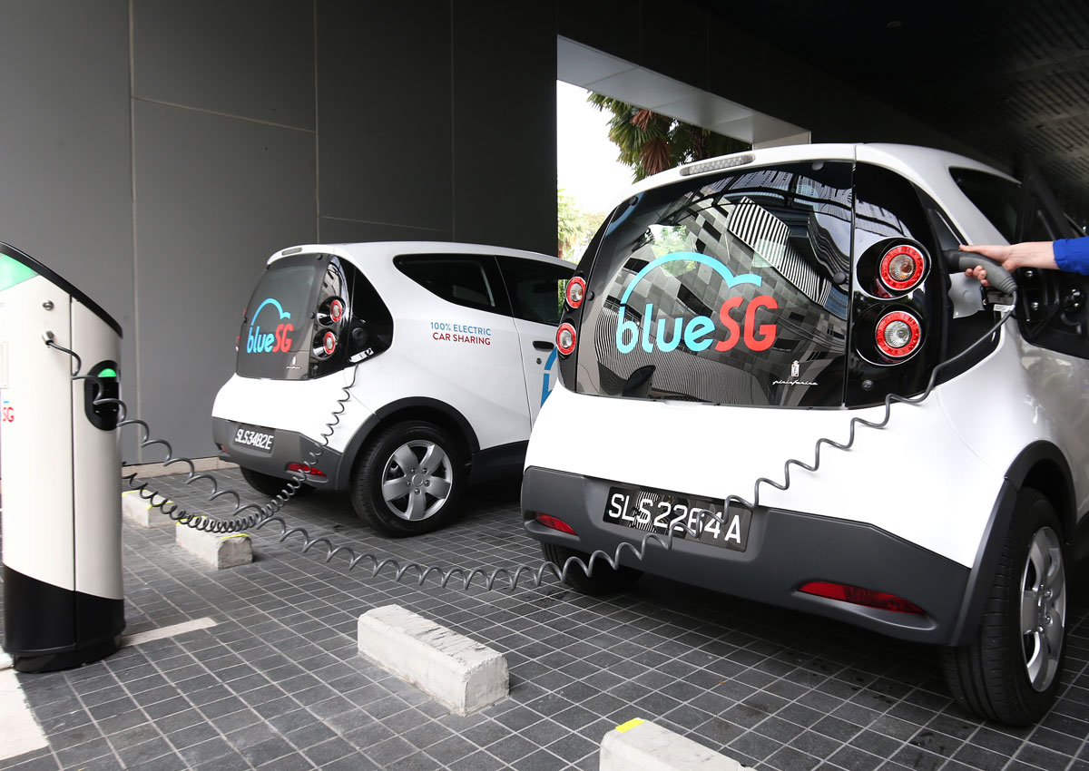Electric Car Rental >> Bluesg Electric Cars Are The New Obikes And Here S How Much