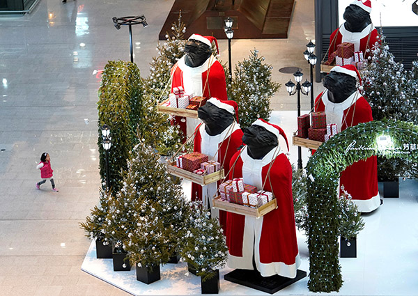 China's 'Christmas Village' makes 60% of world's Christmas decorations