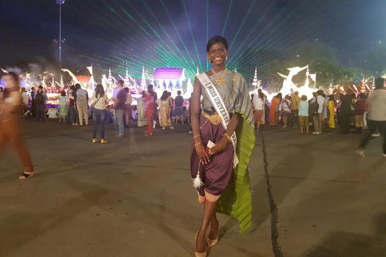 Sierra Leone beauty queen disqualified by Miss Universe but receives lots of love in 'Land of