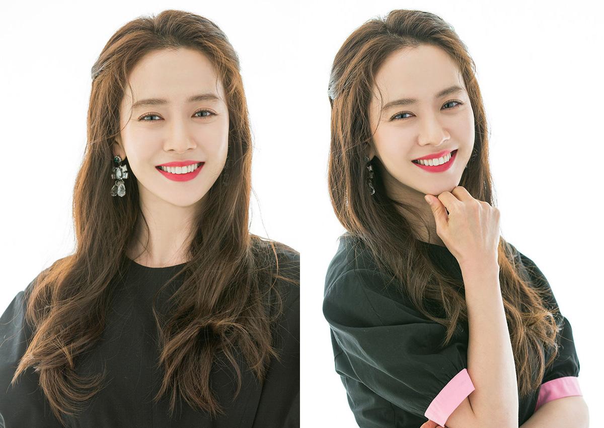 Korean actress Song Ji Hyo:
