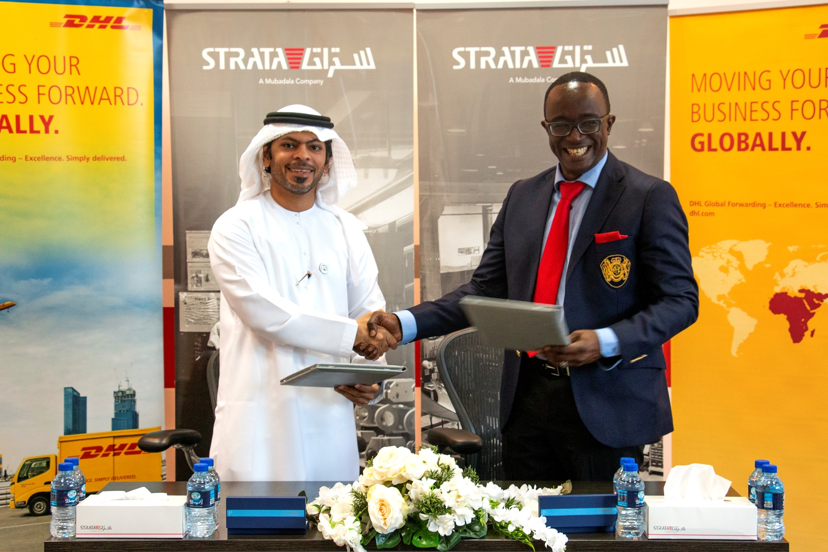 UAE's Strata Manufacturing partners with DHL Global Forwarding to
