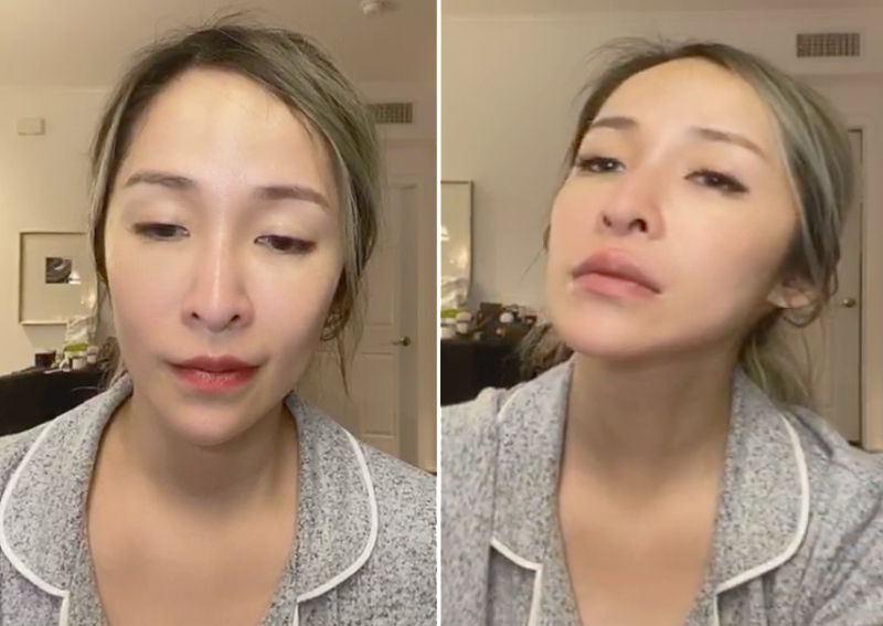 Smashes Face During Makeup Tutorial Hoax - Mugeek Vidalondon