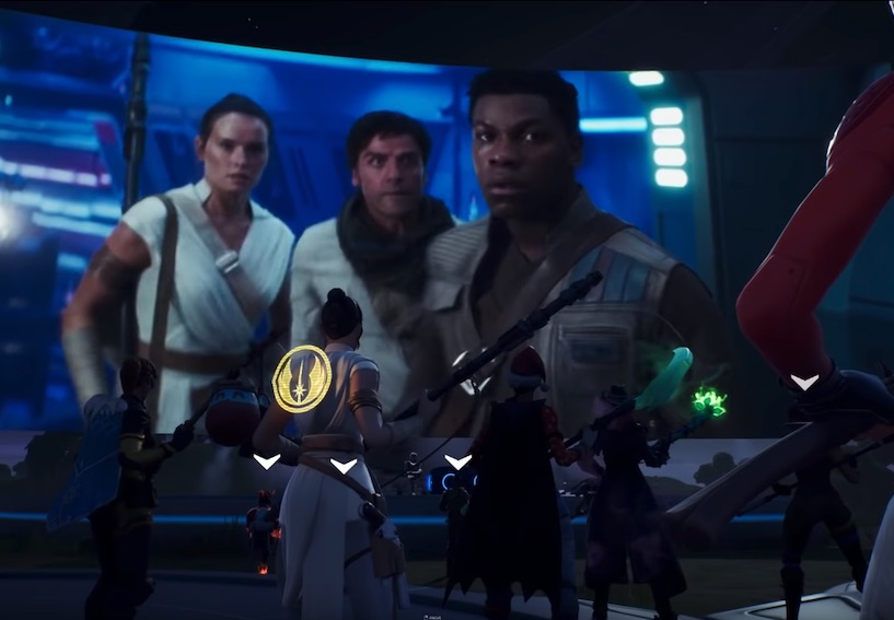 J J Abrams Premieres New Star Wars The Rise Of Skywalker Clip In Fortnite Which Has Lightsabers Now Digital News Asiaone